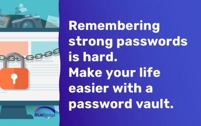 Password Managers and You.