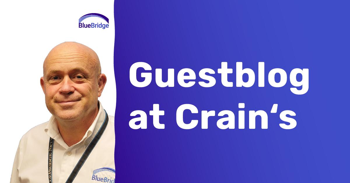 Guestblog at Crain's