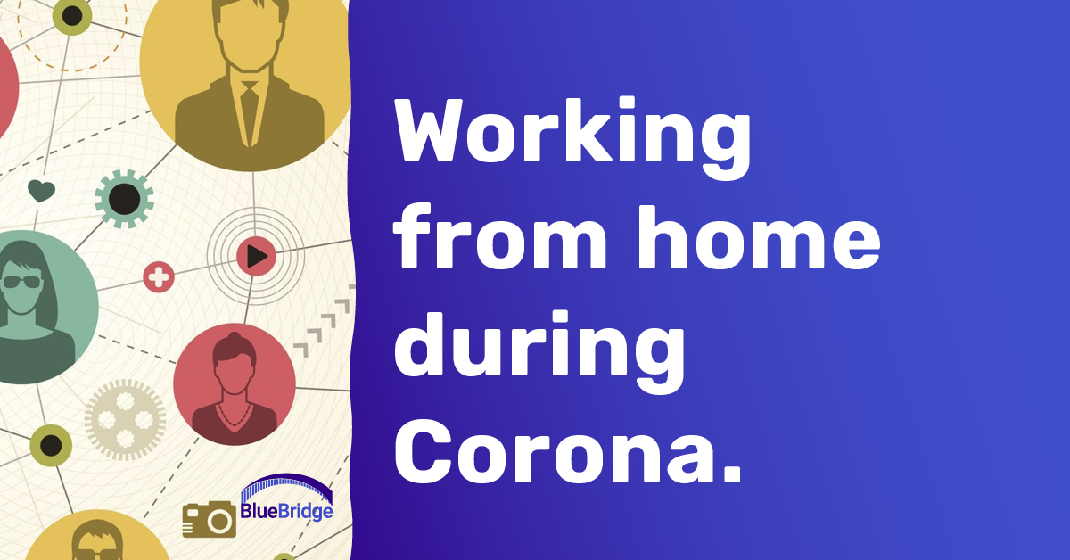 Working from home during Corona