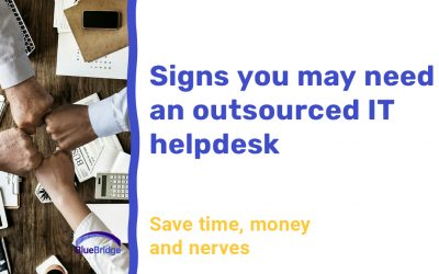 Signs You May Need an Outsourced IT Helpdesk Service