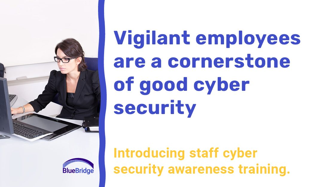 Vigilant employees are a cornerstone of good cyber security.