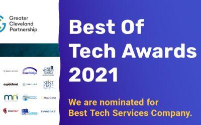 BlueBridge Networks is a finalist for the Best Tech Service Company Award