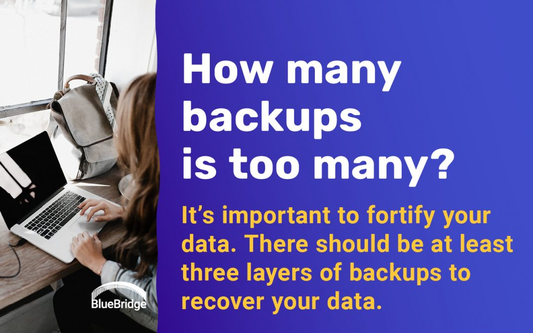 So many reasons to have a backup strategy for your business data